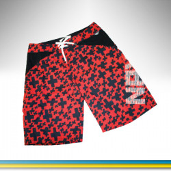 NPX Fury Boardshorts Red White