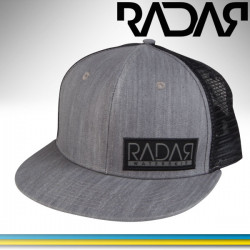 Radar Bill Black Patch Trucker hat