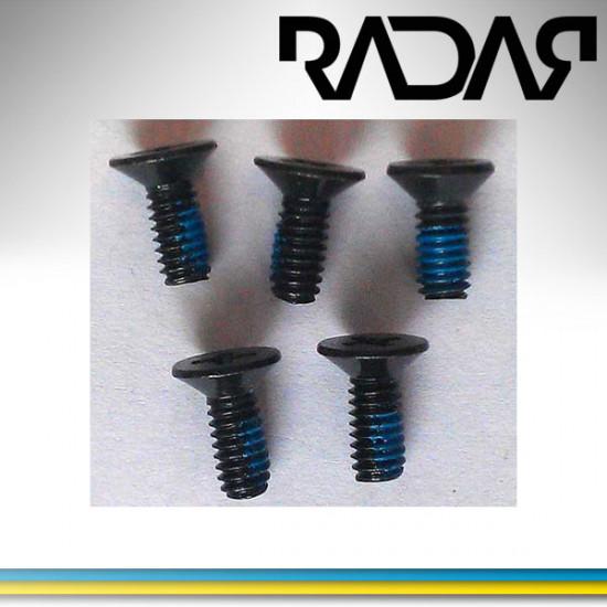 Radar skruvset boot-platta
