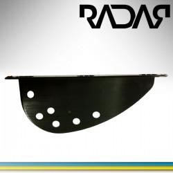 Wing for slalom ski fins