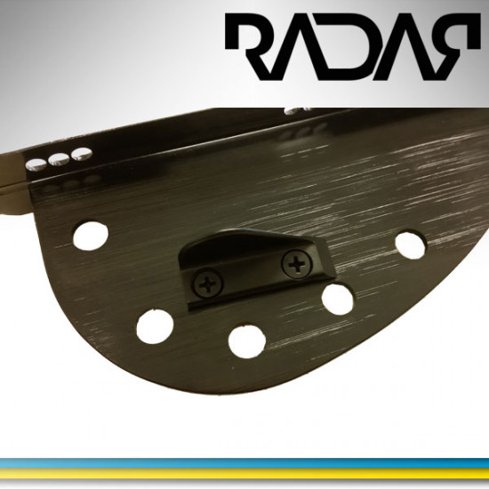Wing for slalom ski fins