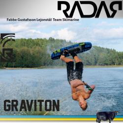 Radar trick platte rear