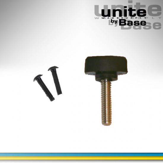 Base fin screw