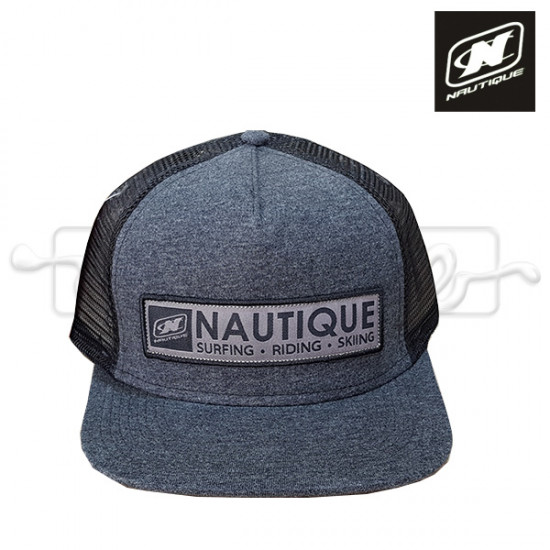 Nautique logo hat dark gray