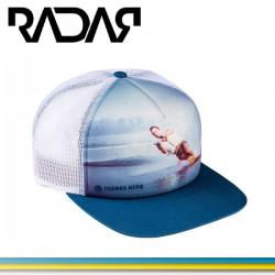 """Radar """"Thanks Herb"""" trucker hat."""