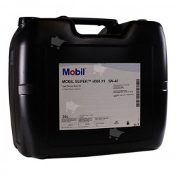 Mobil Super 3000 X1, Synthetic motor oil 5W/40, 20L